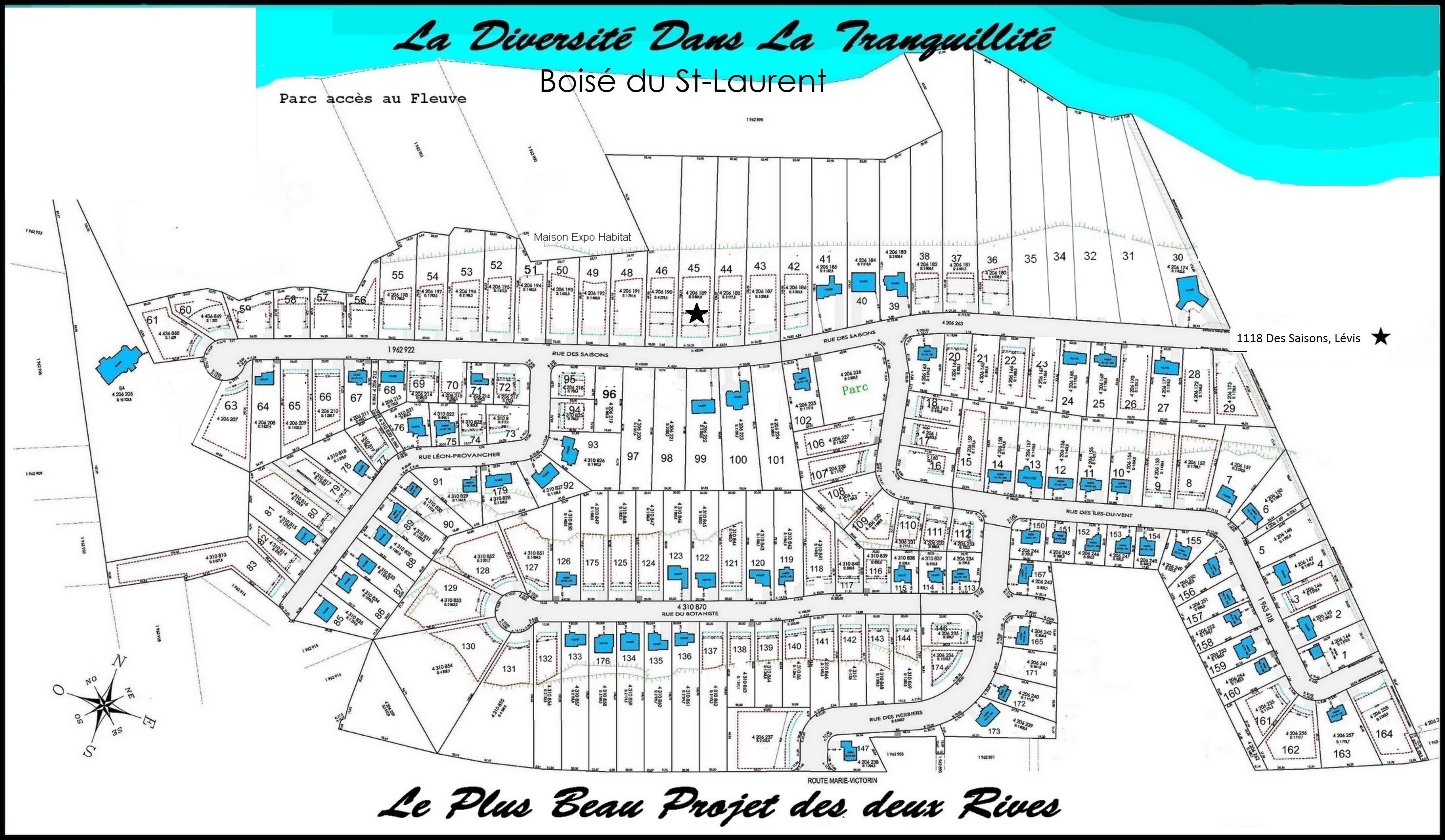 Plan Boisé du St-Laurent