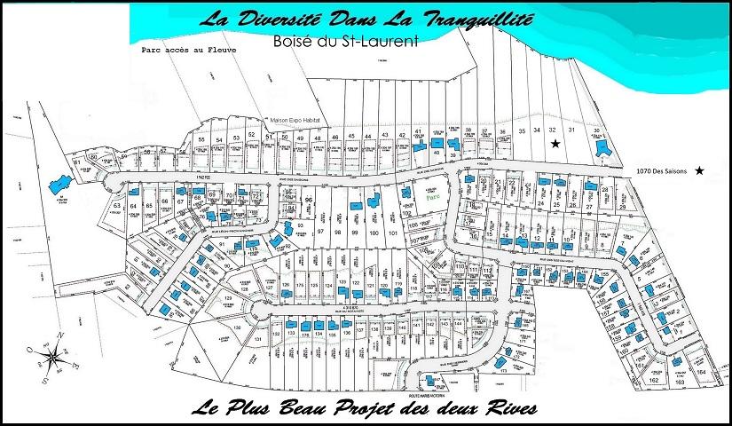 Plan Boisé du St-Laurent  #32