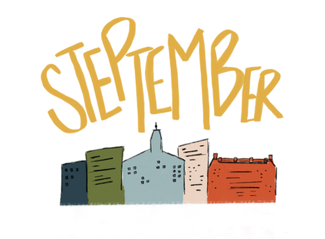How do I compete in The Steptember Challenge?