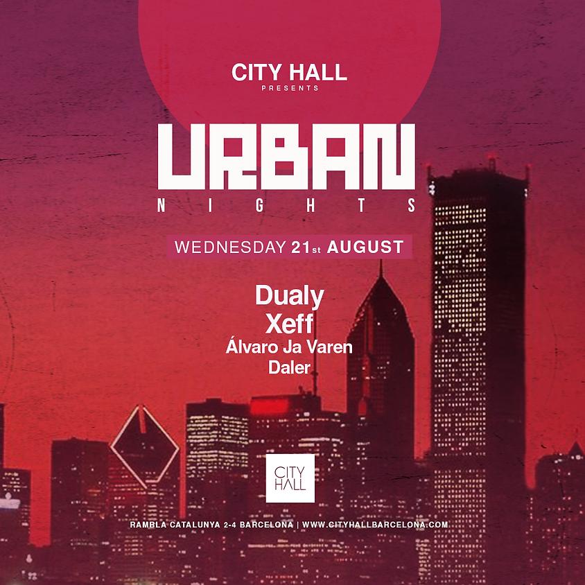 City Hall pres. URBAN - DUALY + XEFF + Alvaro Ja Varen - Daler
