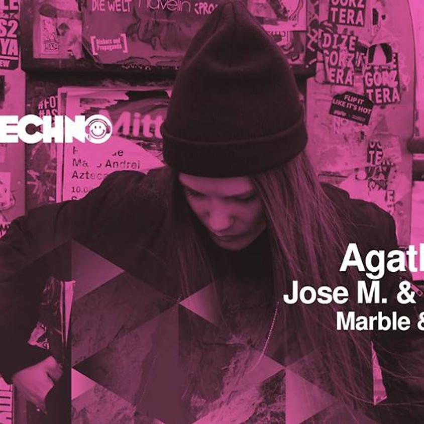 Happy Techno pres: GirlsNight w/ Agatha Pher / Jose M. & Tacoman