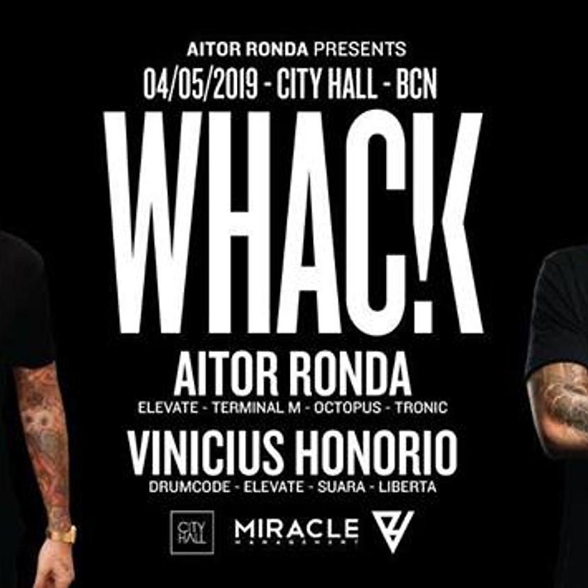 Aitor Ronda pres. WHACK at City Hall Barcelona