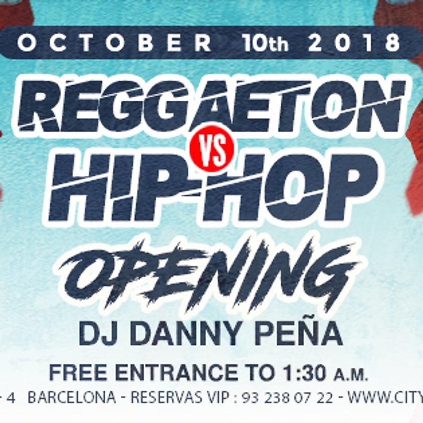 CITY HALL pres: Reggaeton vs Hip Hop