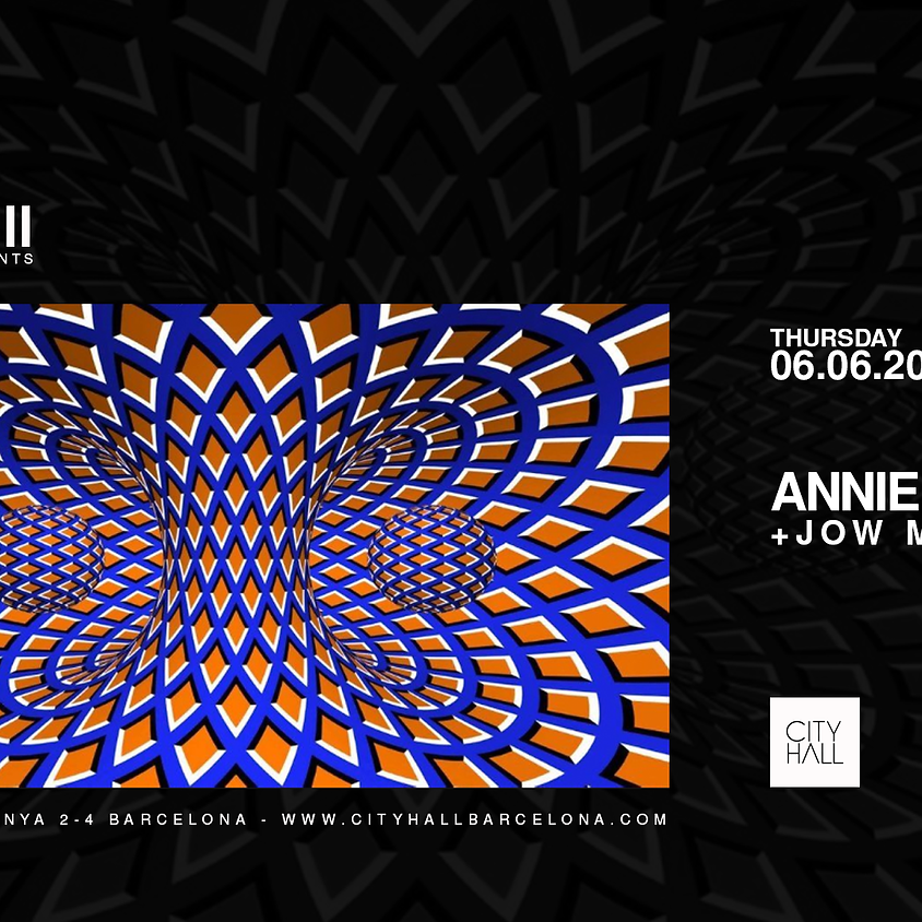 City Hall Barcelona pres. Annie Hall + Jow Moor