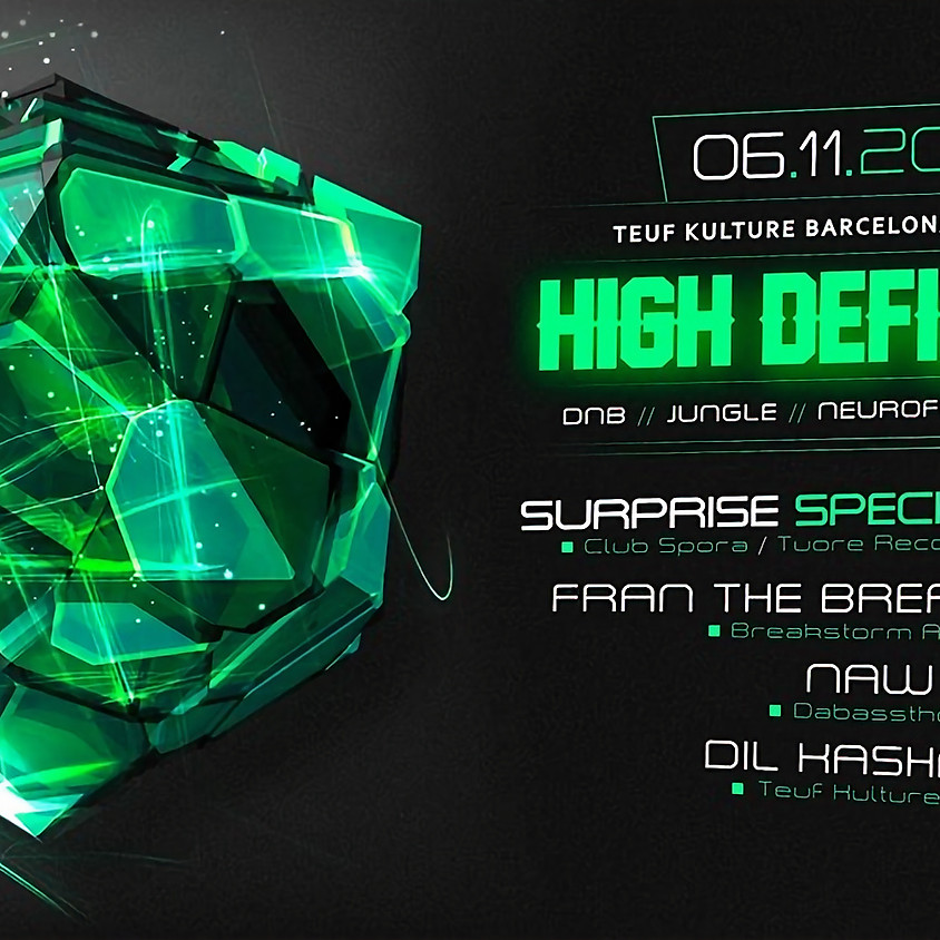 HIGH Definition presents: SURPRISE SPECIAL GUEST