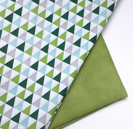 Distributeur Triangles vert