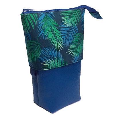 Trousse pot Palmiers bleus