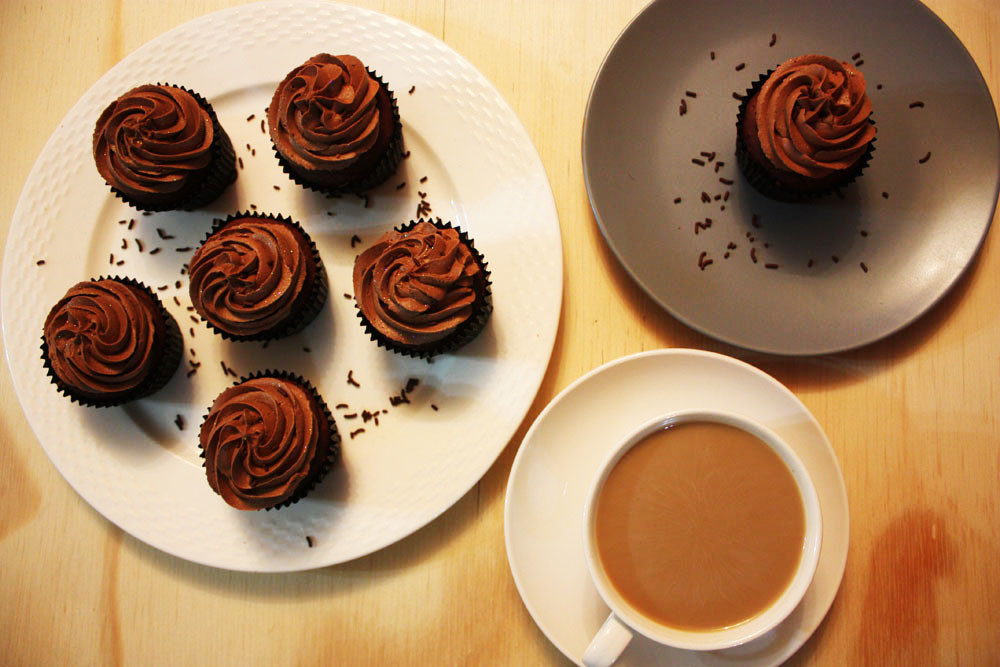 Sir Eat-a-Lot's Chocolate Cupcakes