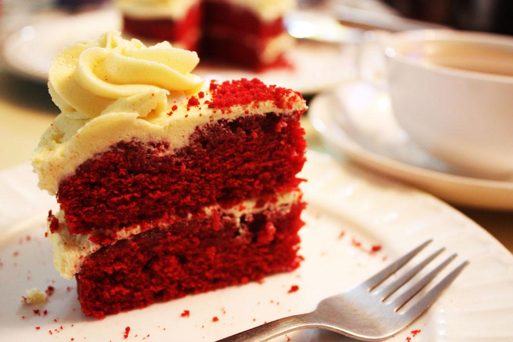 Sir Eat-a-Lot's Red Velvet Cake