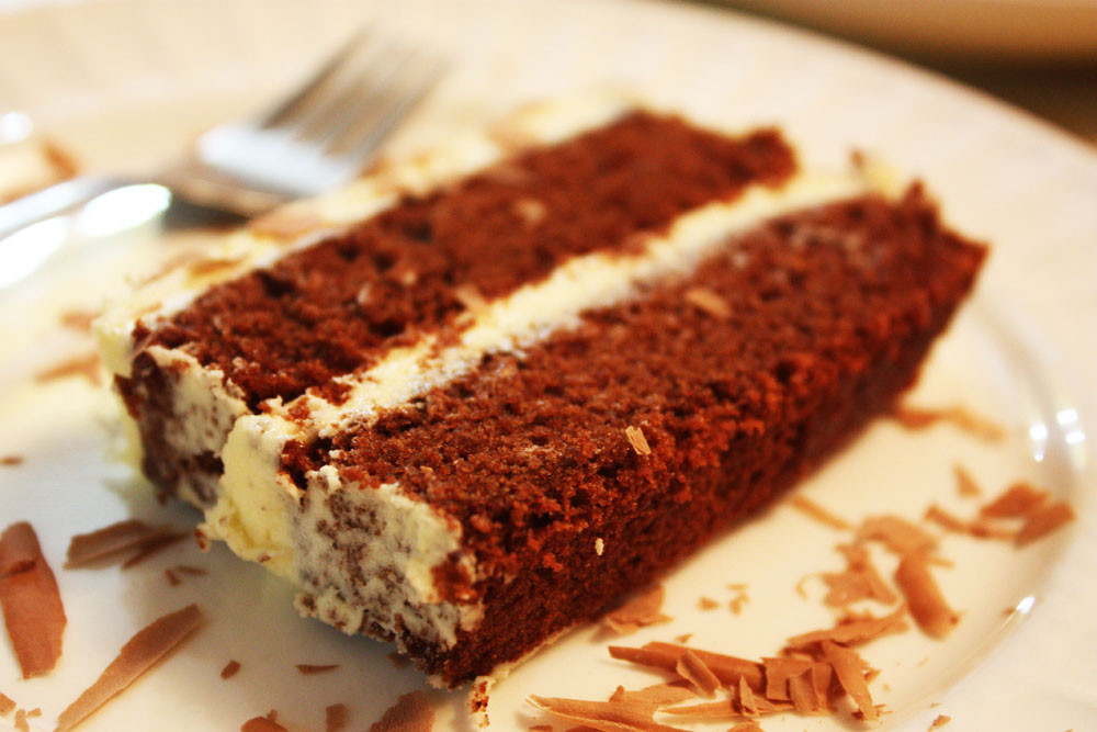 Sir Eat-a-Lot's Chocolate Slab Cake