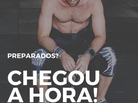 CHEGOU A HORA!