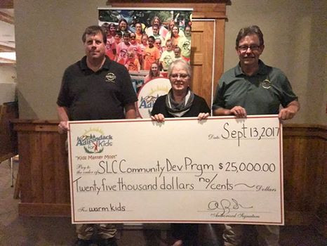 $25,000 Raised for SLC Community Dev. Program