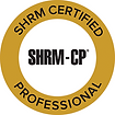 SHRM-CP. Society for Human Resource Management Certification as Certified Professional achieved by Deborah Jenkins