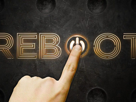 Rebooting:  Re-energizing your mind and body