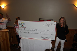 $100,000 raised for the Malone Rec Park!