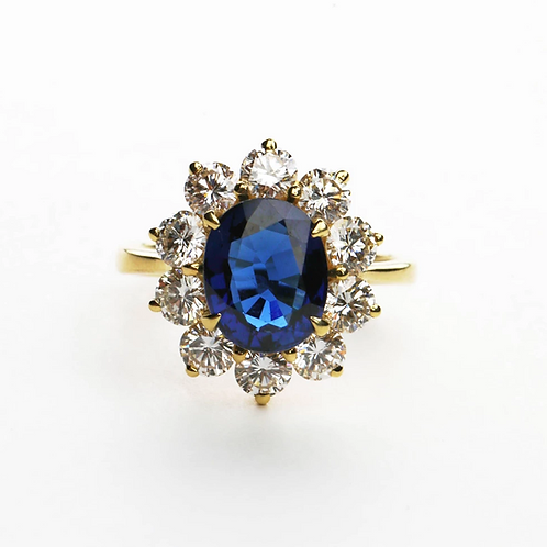 The Vintage Sapphire Ring