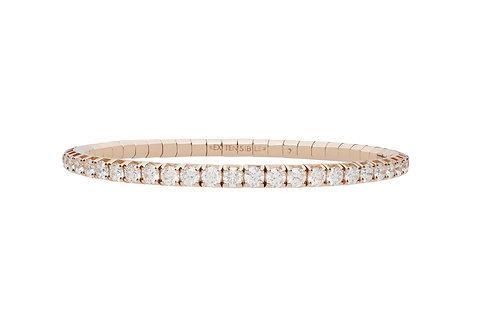 """6.5"""" White Diamond Tennis Bracelet"""