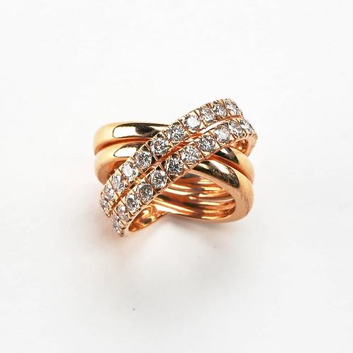 The Diamond X Ring