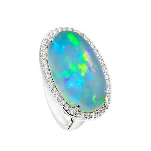 The Australian Opal Ring