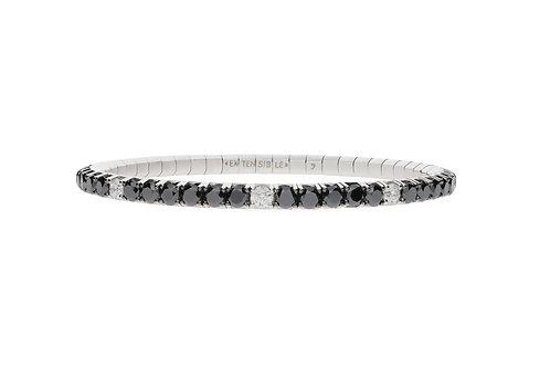 White Dot Tennis Bracelet