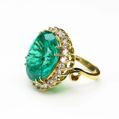 The Oval Emerald Ring
