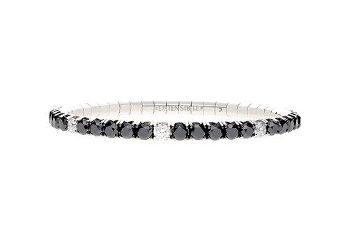 """7.1"""" White Spot Tennis Bracelet"""
