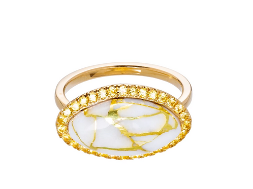 The Gold Vein Ring