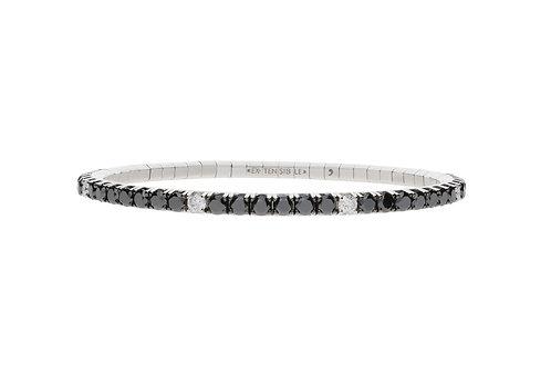 10 Carat White Spot Tennis Bracelet