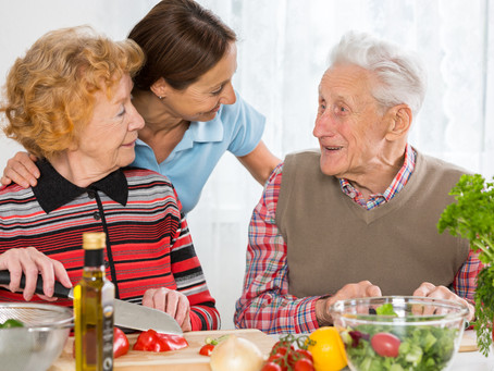 How can dietitians support aged care facilities during the Coronavirus pandemic?