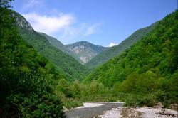 Жоэкварское ущелье в Гаграх