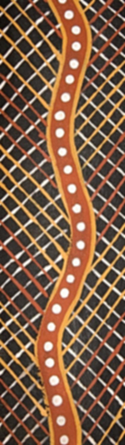 The abstract pattern of Australian abori