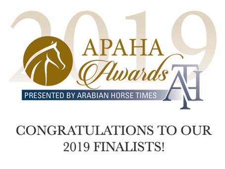 APAHA Finalists!