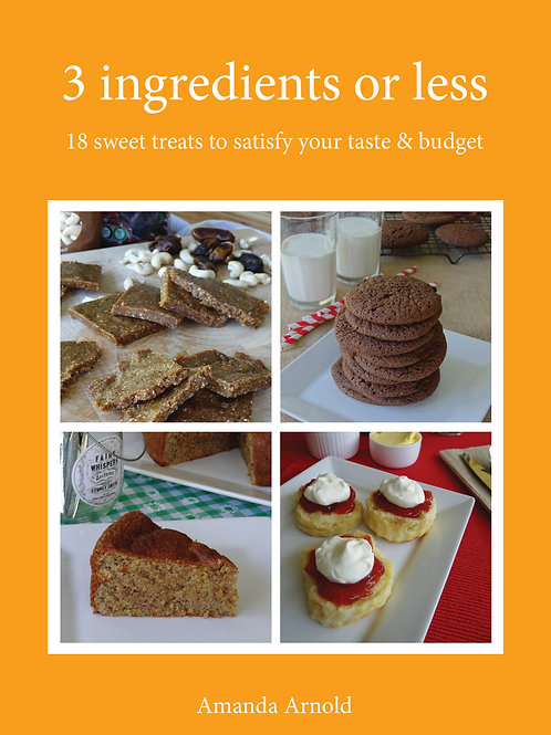 3 ingredients or less - snack recipes (eBook)