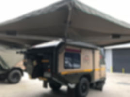 Conqueror UEV 490 with Awning Conversion