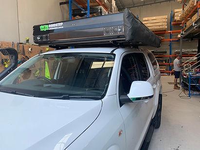 Heavy load on Amarok Dual cab. Ostrich w