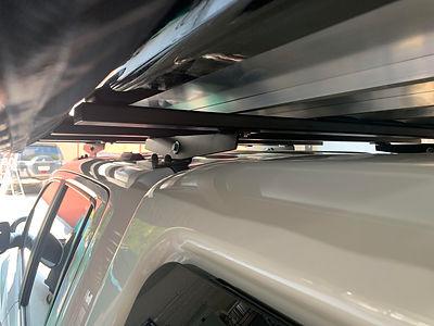 Heavy Duty 200Kgs Roof rack on Amarok by