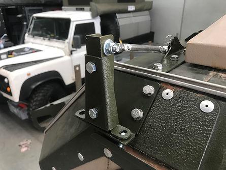 UEV 440 and 490 Upgraded awning brackets