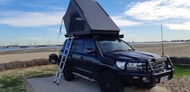 Toyota 200 series with Camp king roof to