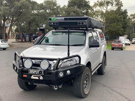 Isuzu D Max with Tough Touring Over cab