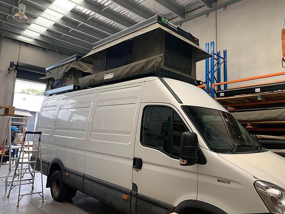 Iveco Daily Van with 2 x Standard Bundut