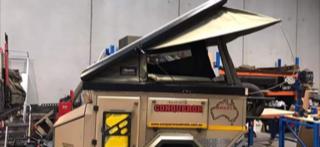 Conqueror UEV 345 with Bush Co roof top