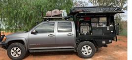 Holden Rodeo colorado Isuzu with Bunduto