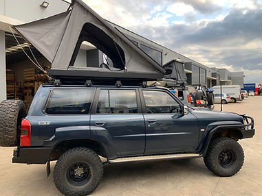 Eezi Awn Blade Roof top tent on Nissan G