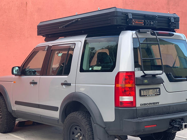 Discovery 3 with Bush Company tent fitte