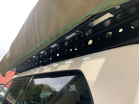 Tough Touring Roof Foot rails 150 Prado