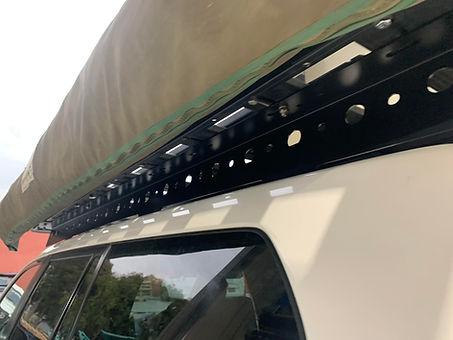 Tough Touring Roof Foot rails 150 Prado