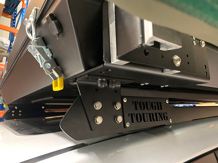 Tough Touring Roof rail adapter plate an