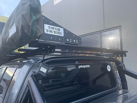 Dual Cab over cab rack by tough touring