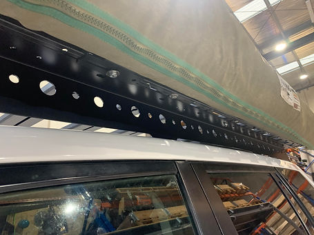 Tough Touring Roof Foot Rails 150 Series