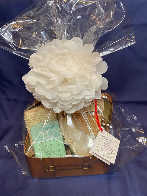 White/Brown Father's Day Gift Box